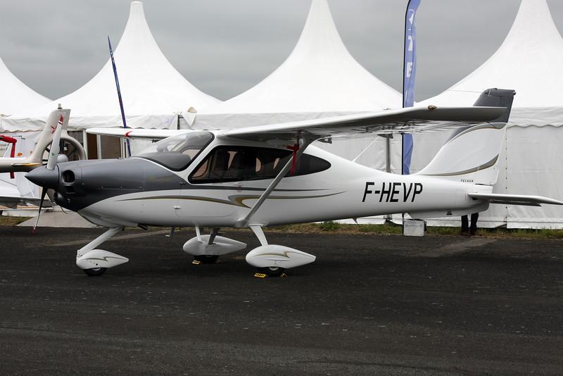 F-HEVP Tecnam P.2010 c/n 003 Pontoise/LFPT/POX 03-06-16