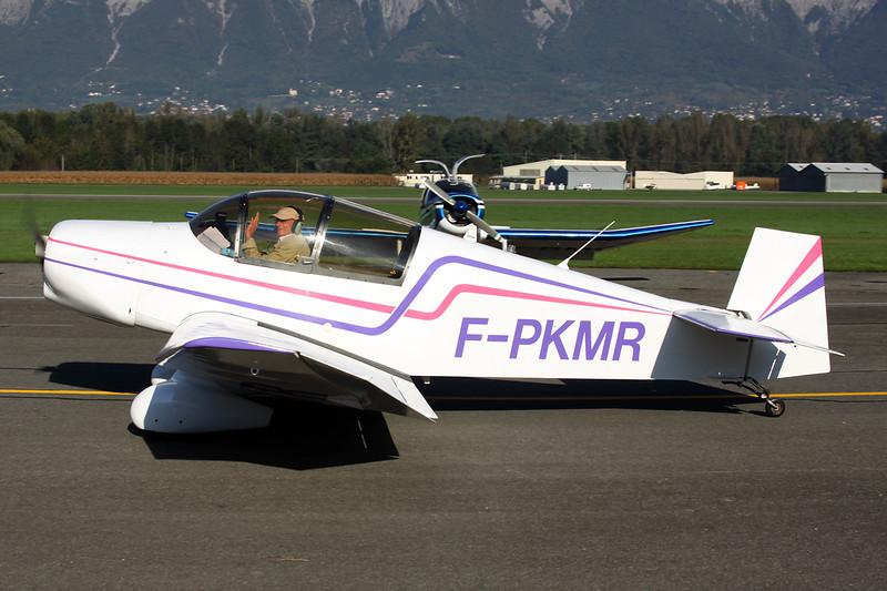 F-PKMR Jodel D.119 c/n 741 Grenoble-Le Versoud/LFLG 06-10-12
