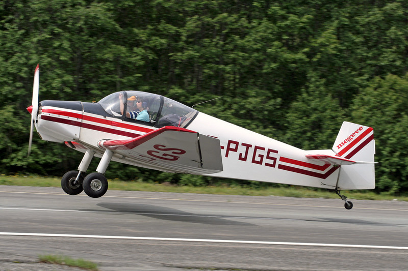 F-PJGS Jodel D.119 c/n 994 Megeve/LFHM/MVV 13-06-07