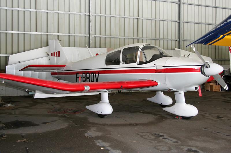 F-BROV Robin DR.380 Prince c/n 399 Megeve/LFHM/MVV 10-06-07