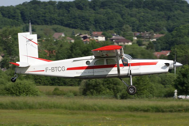 F-BTCG Pilatus PC-6B2-H2 Turbo Porter c/n 551 Besancon-La Veze/LFQM/QBQ 08-06-13