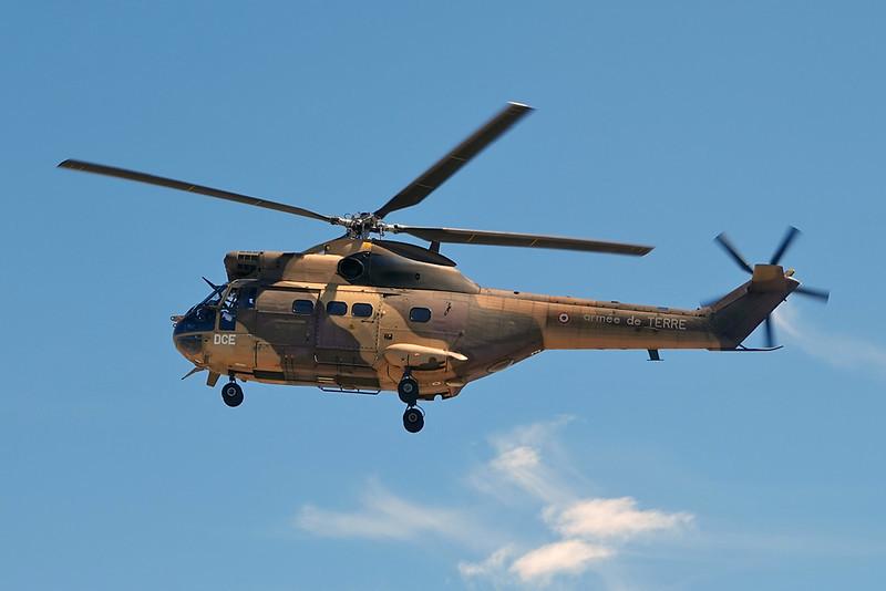 """1071 (DCE) Aerospatiale SA.330BA Puma """"French Army"""" c/n 1071 Valence/LFLU/VAF 24-08-20"""