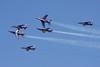"""""""Patrouille de France"""" French Air Force 6 x Alpha Jet Sarre Union/LFQU 21-06-08"""