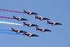 """""""Patrouille de France"""" French Air Force 9 x Alpha Jet Sarre Union/LFQU 21-06-08"""