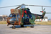 """1156 (BSU) Aerospatiale SA.330Ba Puma """"French Army"""" c/n 1156 Fairford/EGVA/FFD 25-07-99 (35mm slide)"""