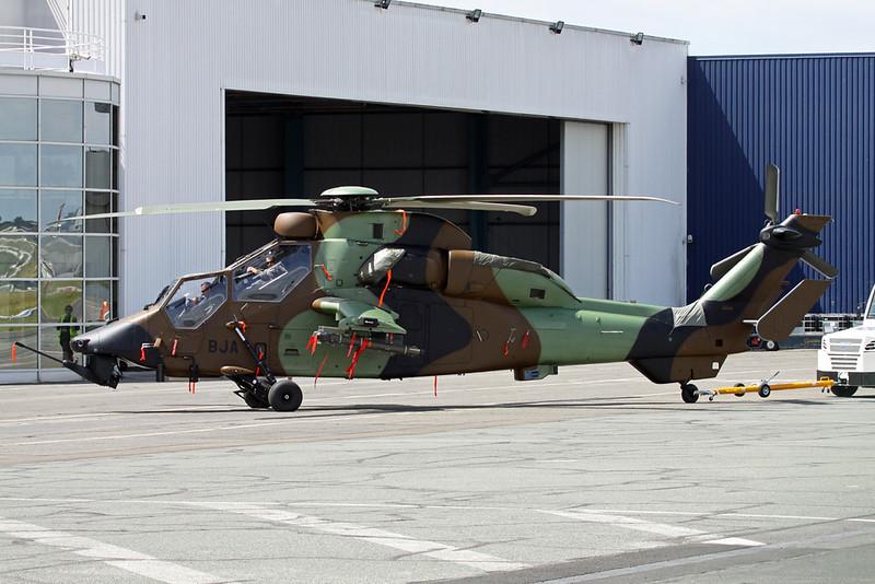 "6001 (BJA) Eurocopter EC-665 HAD Tigre ""French Army"" c/n 6001 Paris-Le Bourget/LFPB/LBG 16-06-17"