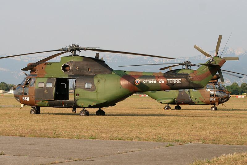 """1056 (BSW) Aerospatiale AS.330Ba Puma """"French Army"""" c/n 1056 Valence/LFLU/VAF 24-06-06"""