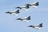 "85 (12-YE) Dassault Mirage 2000C RDI ""French Air Force"" c/n 333 Cambrai/LFQI/XCB 02-07-06 ""5 ship formation"""