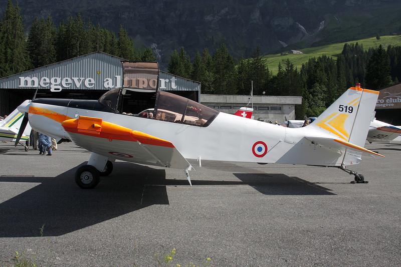 "519 (F-ZJOC) SAN Jodel D.140R Abeille ""French Air Force - CEV"" c/n 519 Megeve/LFHM/MVV 04-07-08"