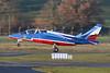 """E87 (F-TELC) Dassault-Breguet-Dornier Alpha Jet E """"French Air Force"""" c/n E87 Toulouse-Blagnac/LFBO/TLS 03-02-21 """"Patrouille de France"""""""