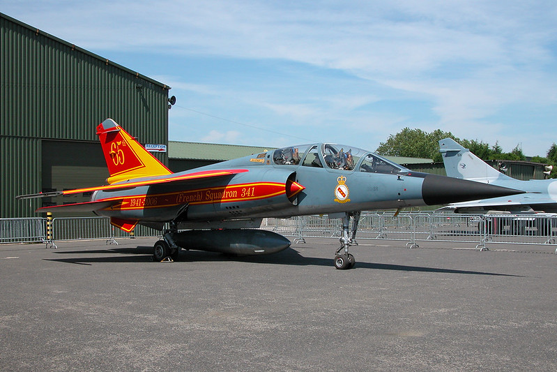 "518 (30-SR) Dassault Mirage F1B ""French Air Force"" c/n 518 Cambrai/LFQI/XCB 02-07-06 ""341 Squadron 65th Anniversary"""