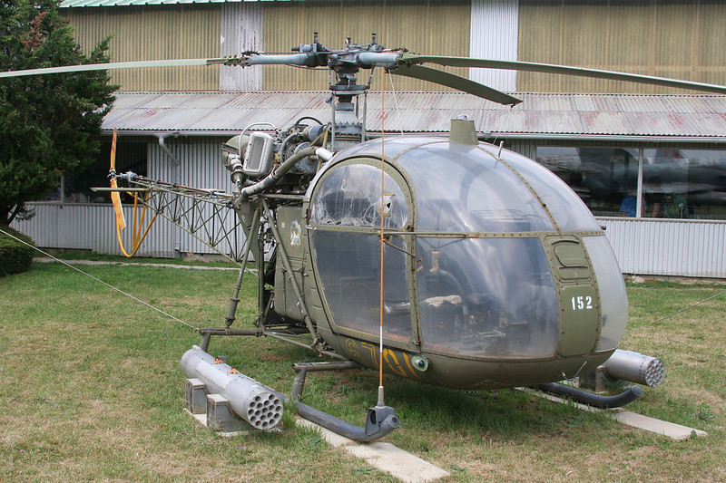 "152 (67-OI) Sud Aviation SE.3130 Alouette II ""French Army"" c/n 1258 Montelimar/LFLQ/XMR 20-07-07"