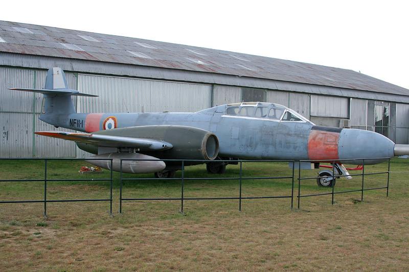 NF.11-1 Gloster Meteor NF.11 c/n AW.5530 Montelimar/LFLQ/XMR 20-07-07