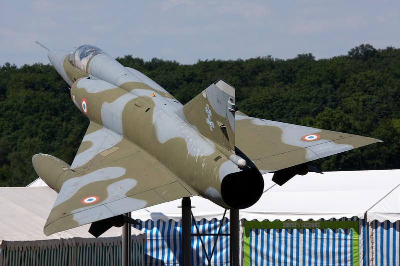 "314 (33-TC) Dassault Mirage IIIR ""French Air Force"" c/n 314 Sarre Union/LFQU 21-06-08"