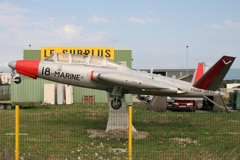 """18 Fougla CM-175 Zephyr """"French Navy"""" c/n 18 Portes les Valence 20-07-07"""