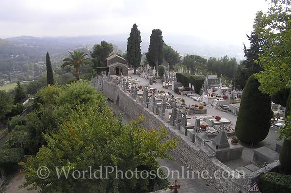 St Paul de Vence - Cemetery