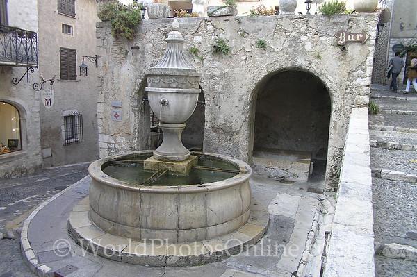 St Paul de Vence - Fountain