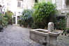 St Paul de Vence - Courtyard