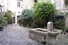 St Paul de Vence - Courtyard