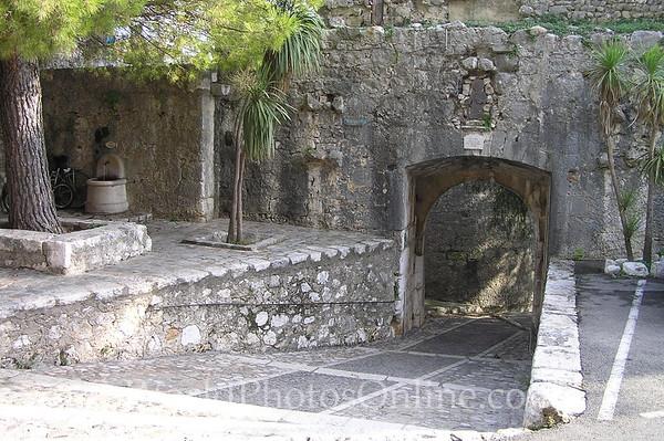 St Paul de Vence - Entry to overlook
