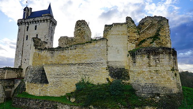 Chateau de Chinon, France