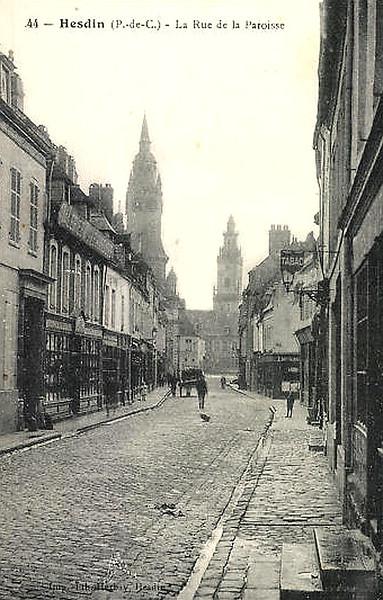Rue de la Paroisse