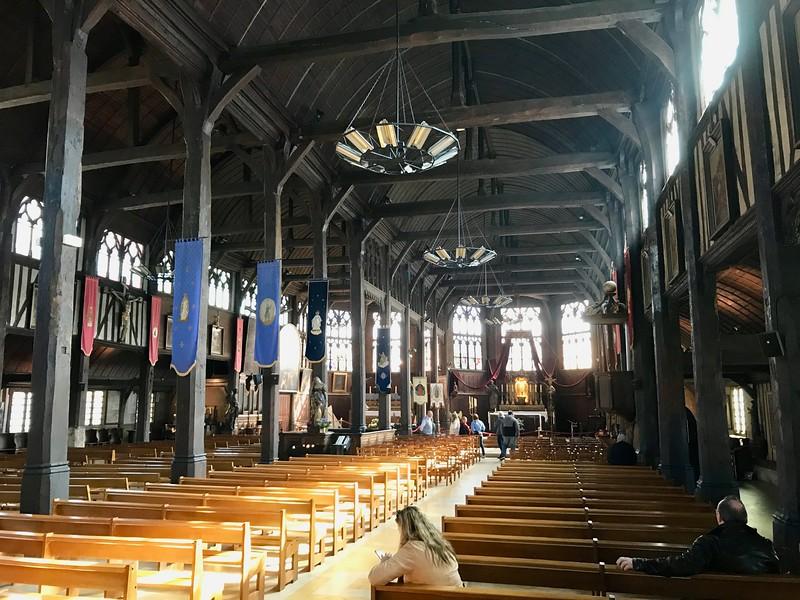 Saint Catherine İskenderiye, Honfleur, Fransa