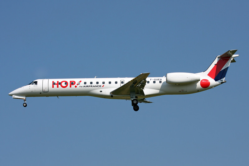 "F-GUEA Embraer ERJ-145MP ""HOP!"" c/n 145342 Brussels/EBBR/BRU 07-07-13"