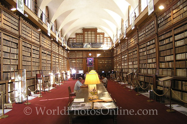 Ajaccio - Historical Library - Interior