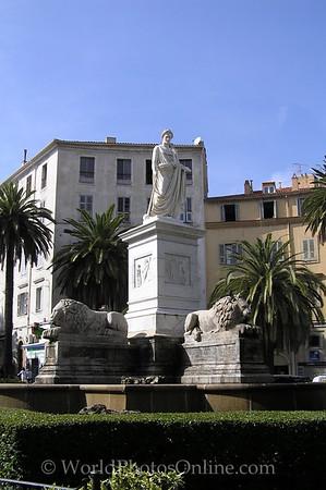 Ajaccio - Napoleon as Caesar
