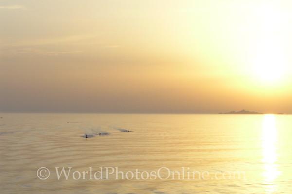 Ajaccio - Golden Sunset