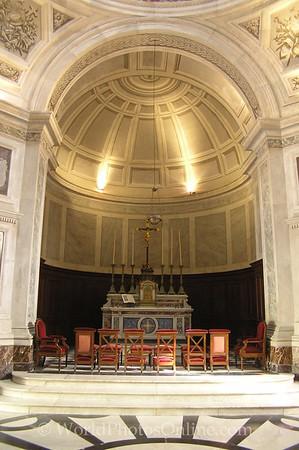 Ajaccio - Imperial Chapel - Altar