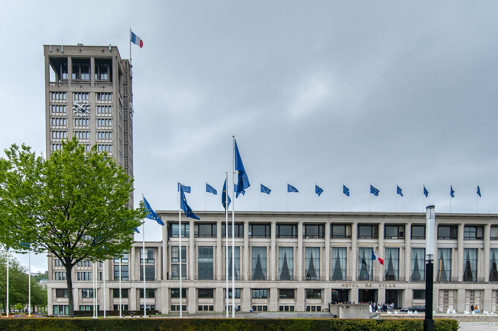 Le Havre, the City Rebuilt by Auguste Perret UNESCO World Heritage Site