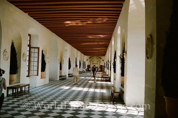Tours - Chateau De Chenonceau - Hall
