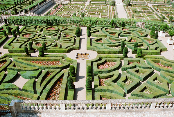 Chateau De Villandry - Gardens 3