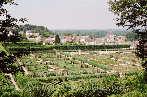 Chateau De Villandry - Gardens 2