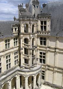 Da Vinci staircase Chateau Chambord