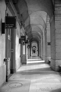 Hotel Dieu Corridor