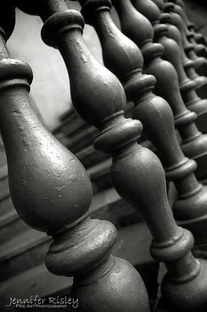 Wooden Bannister