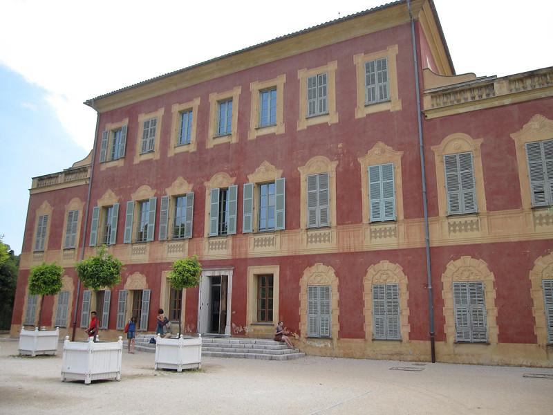 Musée Matisse facade in Nice, France