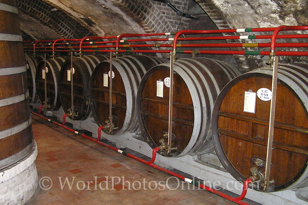 Fe Camp - Benedictine Abbey - Ageing Barrels