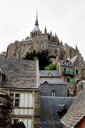Mont St Michel - Abbey