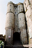 Mont St Michel - Twin Turret Abbey Entrance