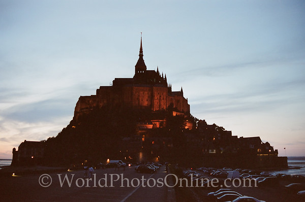 Mont St Michel - at night