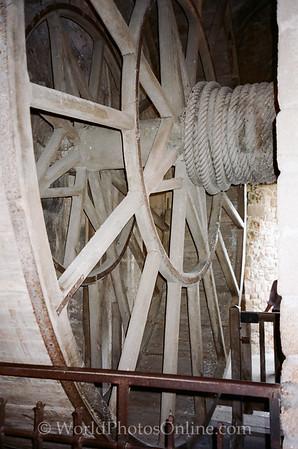 Mont St Michel - Great Wheel and Hoist