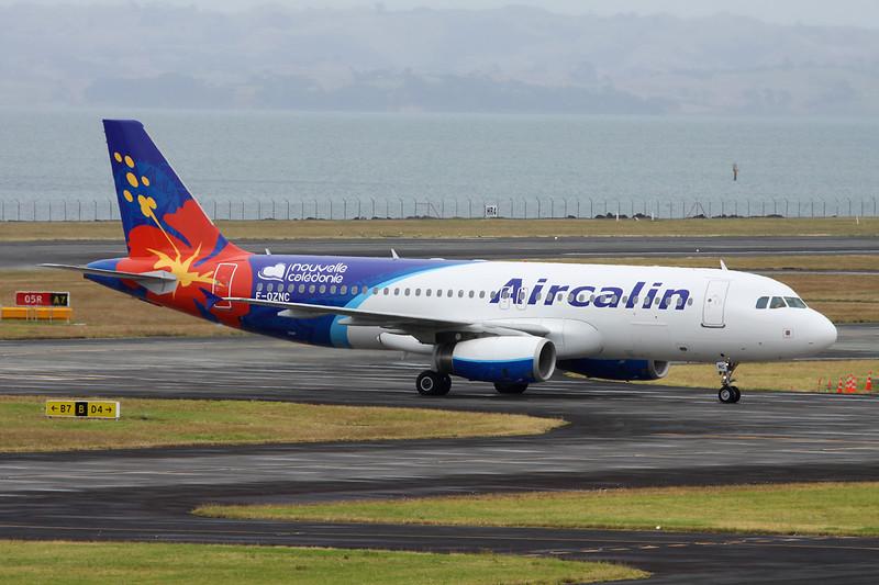 """F-OZNC Airbus A320-232 """"Aircalin"""" c/n 3547 Auckland/NZAA/AKL 01-02-15"""