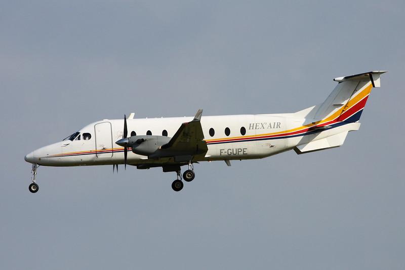 "F-GUPE Beech 1900D ""Hex'Air"" c/n UE-248 Paris-Orly/LFPO/ORY 09-06-15"