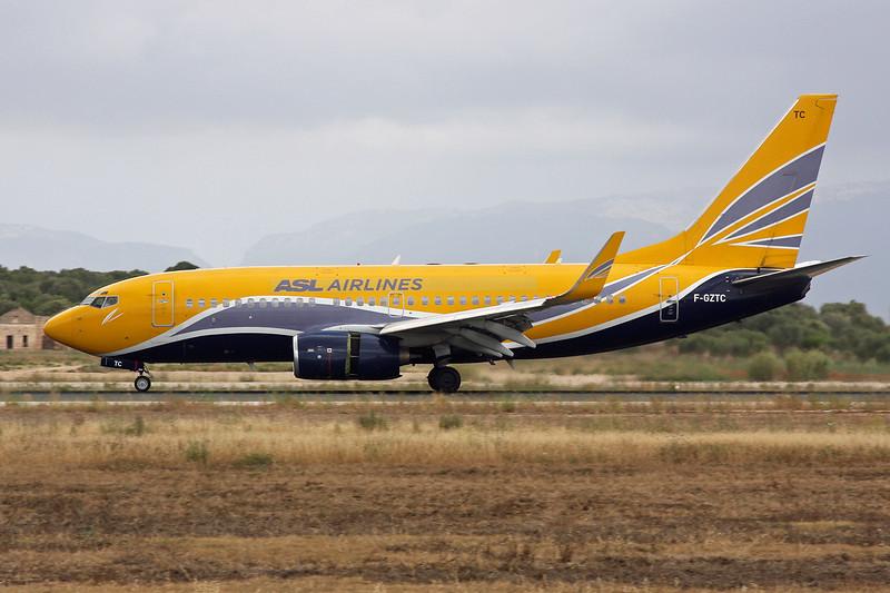 "F-GZTC Boeing 737-73V ""ASL Airlines France"" c/n 32414 Palma/LEPA/PMI 14-06-16"