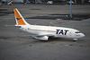 "F-GGPC Boeing 737-204 ""TAT European"" c/n 20282 Paris-Orly/LFPO/ORY 10-06-95 ""35mm slide"""