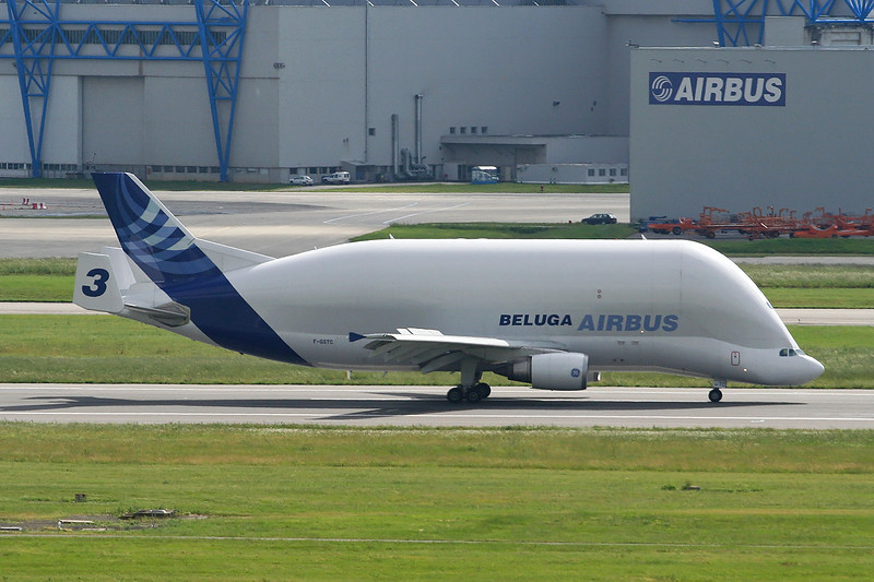 "F-GSTC Airbus A300B4-608ST Super Transporter ""Airbus Industrie"" c/n 765 Toulouse-Blagnac/LFBO/TLS 16-05-08"